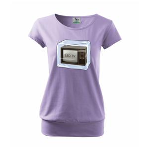 LED TV (Hana-creative) - Voľné tričko city