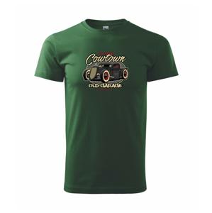 Legendary old car - Heavy new - tričko pánske
