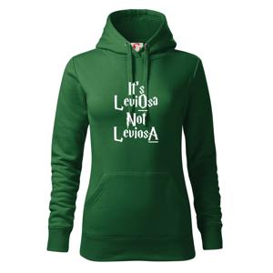 Leviosa not Levjosa - Mikina dámská Cape s kapucí