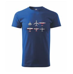 Lietadlo modelár - Heavy new - tričko pánske
