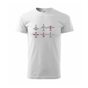 Lietadlo modelár - Tričko Basic Extra veľké