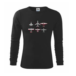 Lietadlo modelár - Tričko detské Long Sleeve