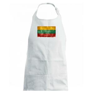 Litva vlajka stará - Detská zástera na varenie