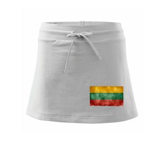 Litva vlajka stará - Športová sukne - two in one