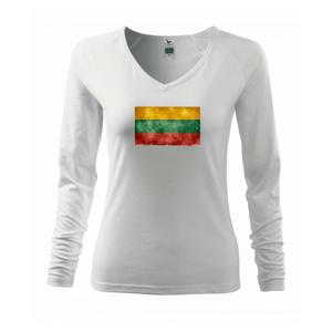 Litva vlajka stará - Tričko dámske Elegance