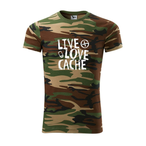 Live love cache - Army CAMOUFLAGE