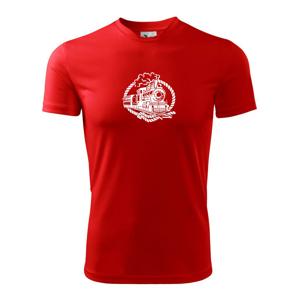 Lokomotíva lano - Detské tričko fantasy športové tričko