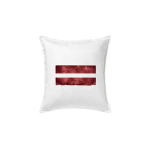 Lotyšsko vlajka stará - Vankúš 50x50