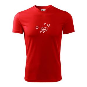 Love Chlapec - Holka - Detské tričko fantasy športové tričko