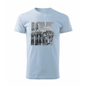 Love Italy - Colosseum  - Heavy new - tričko pánske