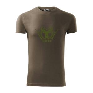 Lovec - jeleň a zbrane - Viper FIT pánske tričko
