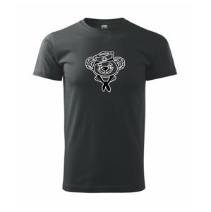 Macík kapitán - Heavy new - tričko pánske