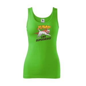 Mačka Jump like Superhero - Tielko triumph