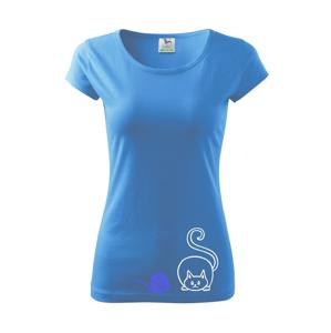 Mačka klbko - Pure dámske tričko