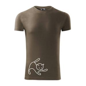 Mačka sa hrá - Viper FIT pánske tričko