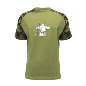 Mačky Amorov šíp - Raglan Military