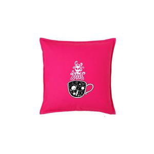 Magic black coffee (Pecka design) - Vankúš 50x50