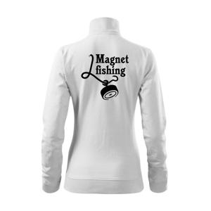 Magnet fishing - Mikina dámska Viva bez kapucne