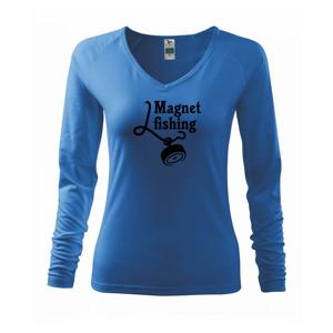 Magnet fishing - Tričko dámske Elegance