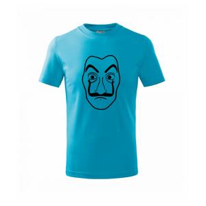 Maska do tlačiarne peňazí - Tričko detské basic