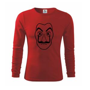 Maska do tlačiarne peňazí - Tričko s dlhým rukávom FIT-T long sleeve
