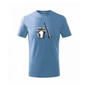 Med v pohári - Tričko detské basic
