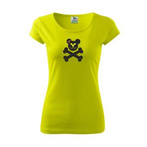 Medveď lebka - Pure dámske tričko
