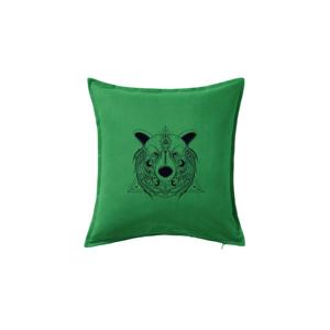 Medveď v trojuholníku - Vankúš 50x50
