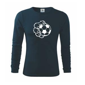Medvedia laba futbal - Tričko s dlhým rukávom FIT-T long sleeve