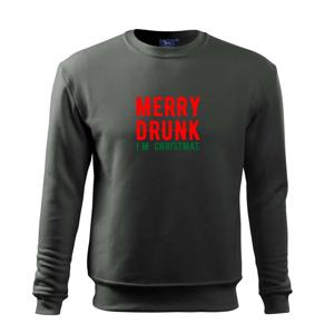 Merry Drunk I'm Christmas - Mikina Essential detská