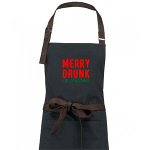 Merry Drunk I'm Christmas - Zástera Vintage