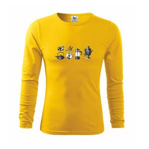 Milovník čaju - Tričko s dlhým rukávom FIT-T long sleeve