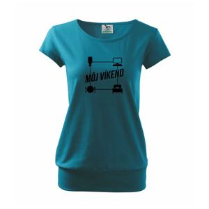 Môj víkend - Voľné tričko city