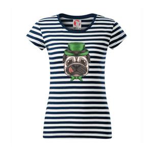 Mops a poľovník - Sailor dámske tričko
