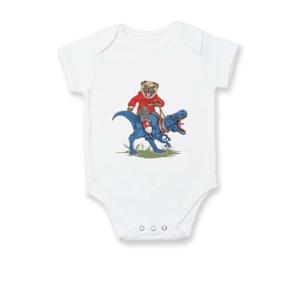 Mops a tyranosaurus - Dojčenské body