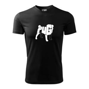 Mops - nazov v tele - Detské tričko fantasy športové tričko