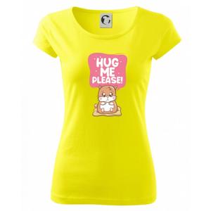 Morča - hug me please - Pure dámske tričko