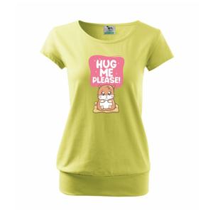 Morča - hug me please - Voľné tričko city