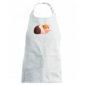 Morča - kreslené z boku - Detská zástera na varenie