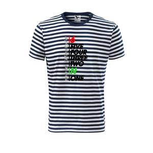 Moto lifestyle - Unisex tričko na vodu
