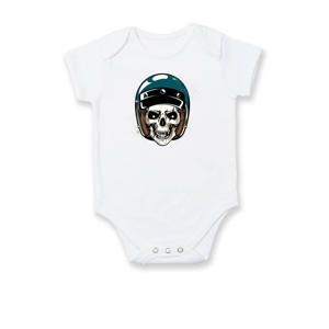 Moto prilba modrá - Dojčenské body