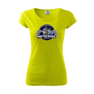 Motocross freestyle kruh - Pure dámske tričko