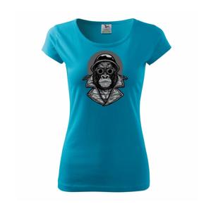 Motorkár gorila - Pure dámske tričko