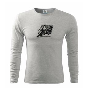 Motorkár skica - Tričko s dlhým rukávom FIT-T long sleeve