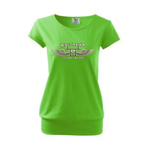 Motorkár telom aj dušou - Voľné tričko city