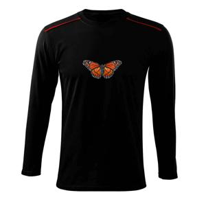 Motýľ Monarcha sťahovavý - Tričko s dlhým rukávom Long Sleeve