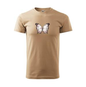 Motýľ ružovobiely - Heavy new - tričko pánske