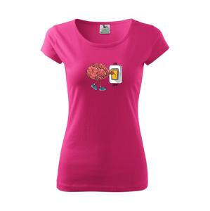Mozog ON OFF - Pure dámske tričko