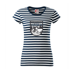 MTB downhill logo prsia - Sailor dámske tričko