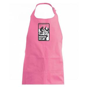 MTB downhill logo prsia - Zástěra na vaření